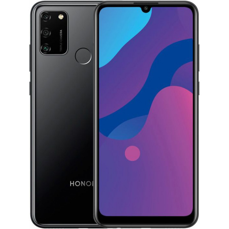 Смартфон Honor 9A 3/64Gb Black/Черный