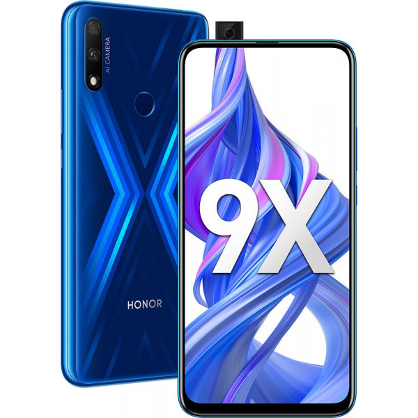 Honor 9X 4/128Gb Blue/Синий
