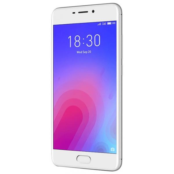 Смартфон Meizu M6 32GB Серебристый