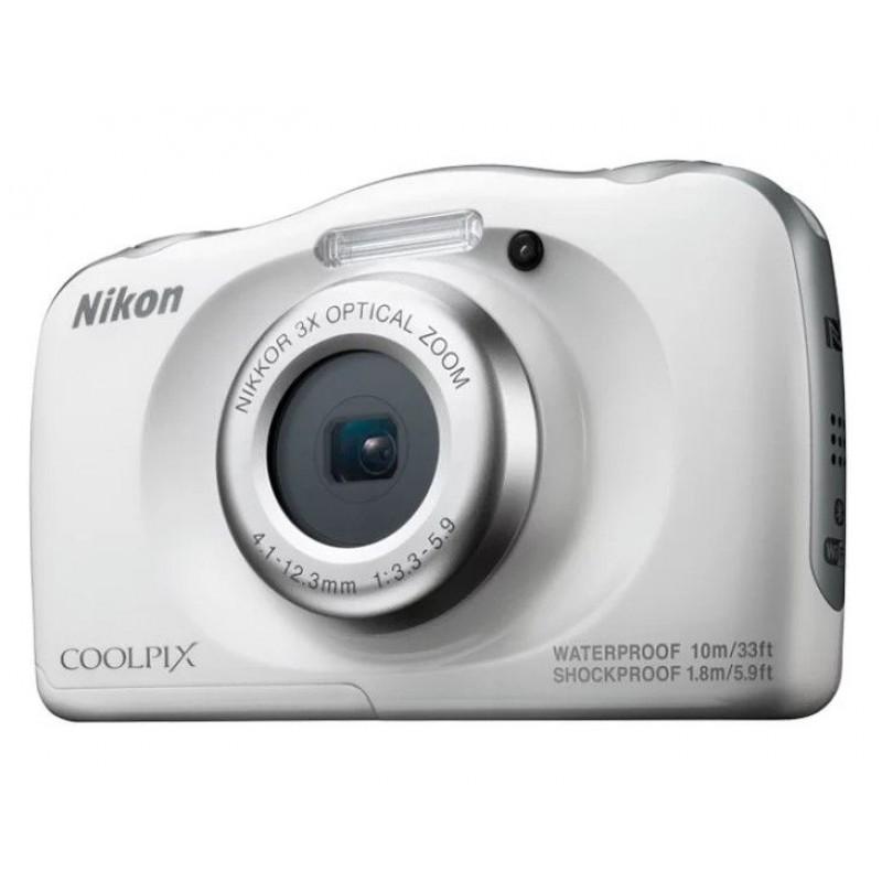 Компактный фотоаппарат Nikon Coolpix W100 Белый