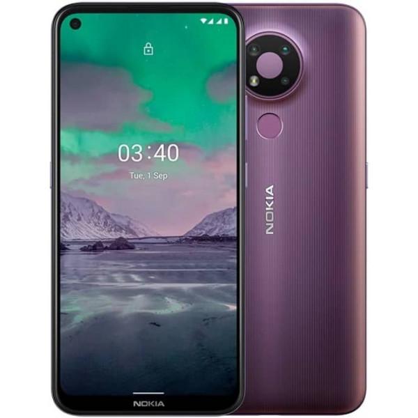 Смартфон Nokia 3.4 3/64GB Dual sim Пурпурный