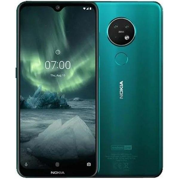 Смартфон Nokia 7.2 128GB Cyan Green/Изумрудный