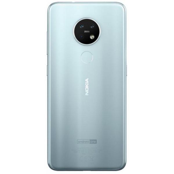 Смартфон Nokia 7.2 128GB Iсe Silver/Серебристый