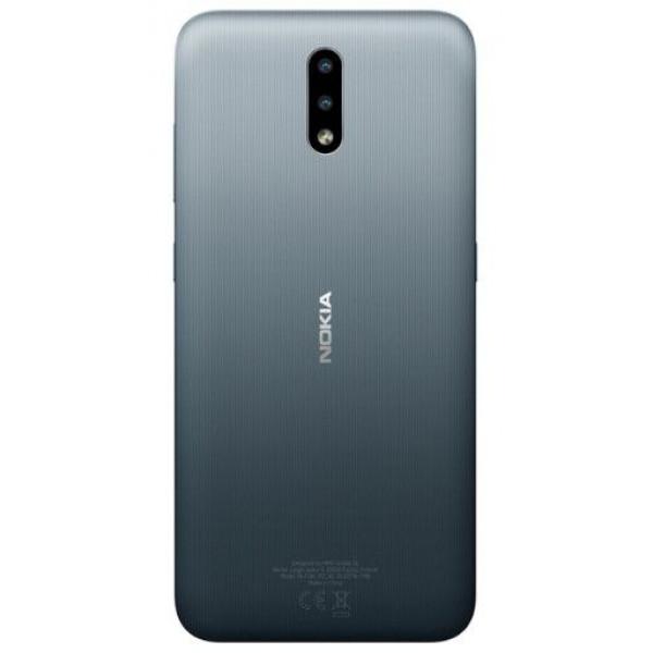 Смартфон Nokia 2.3 32GB Dual Sim Угольный Серый
