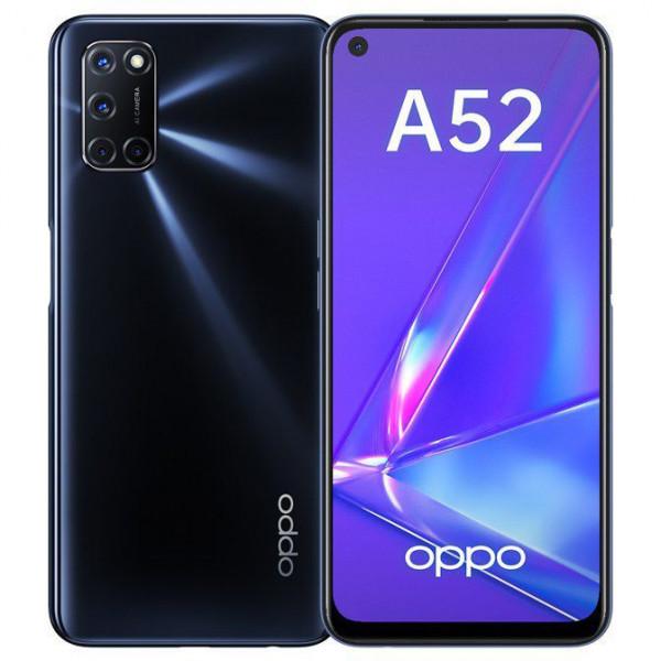 Смартфон OPPO A52 4/64GB Black/Черный
