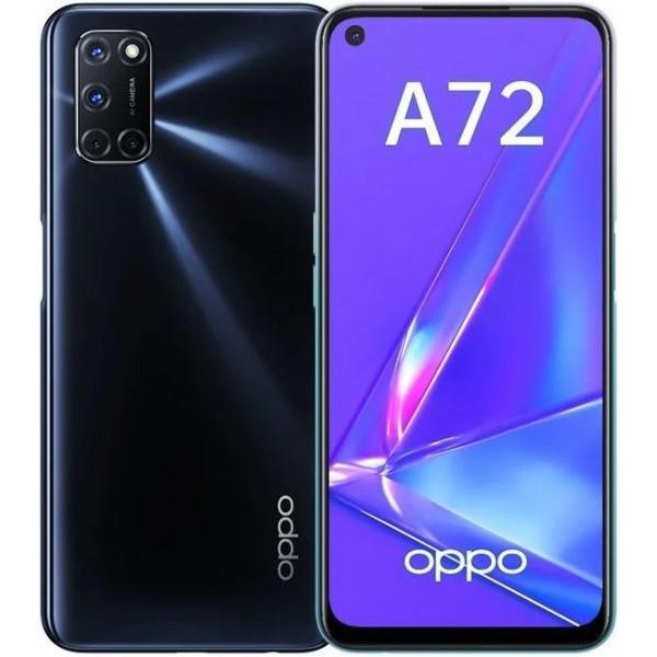 Смартфон OPPO A72 128GB Сумеречно Черный