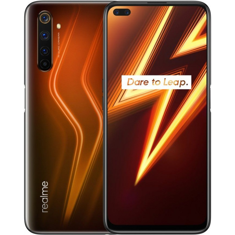 Смартфон Realme 6 Pro 6/64Gb Lightning Orange/Оранжевый
