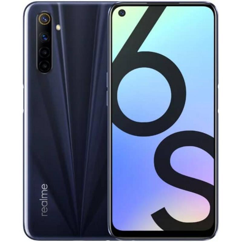 Смартфон realme 6S 6/128GB Eclipse Black/Черный