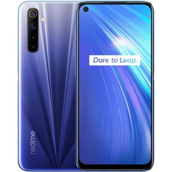 Смартфон Realme 6 4/128Gb Blue Comet/Синий
