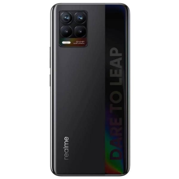 Смартфон realme 8 6/128GB Cyber Black/Черный