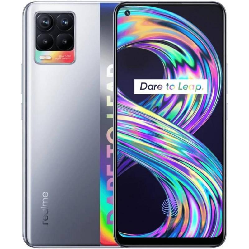 Смартфон realme 8 6/128GB Silver storm/Серебристый