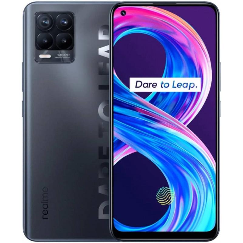 Смартфон realme 8 Pro 8/128GB Infinite Black/Черный