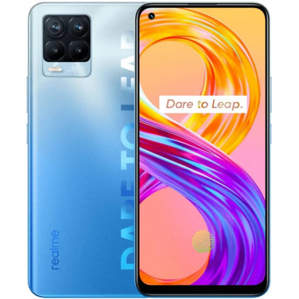Смартфон realme 8 Pro 8/128GB Infinite Blue/Голубой