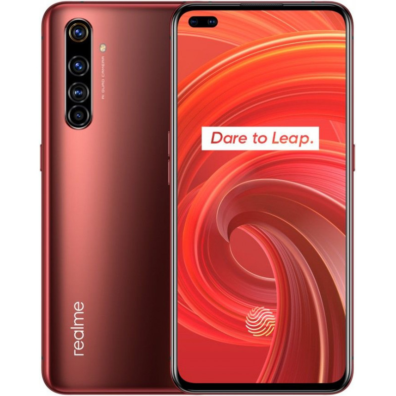 Смартфон Realme X50 Pro 8/128GB Rust Red/Красный