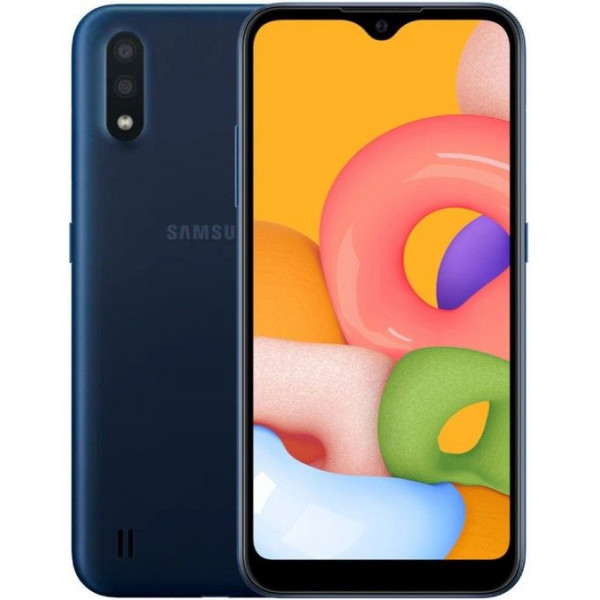 Смартфон Samsung Galaxy A01 2/16Gb (SM-A015F) Синий