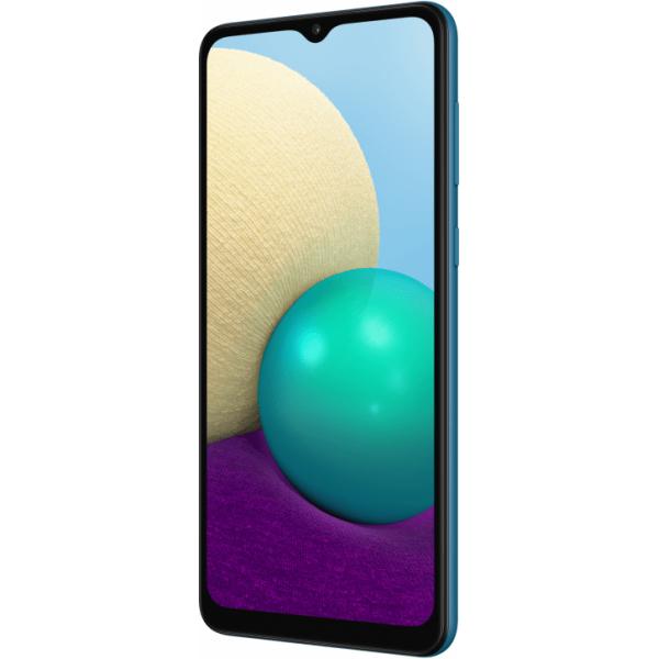 Смартфон Samsung Galaxy A02 32GB Синий