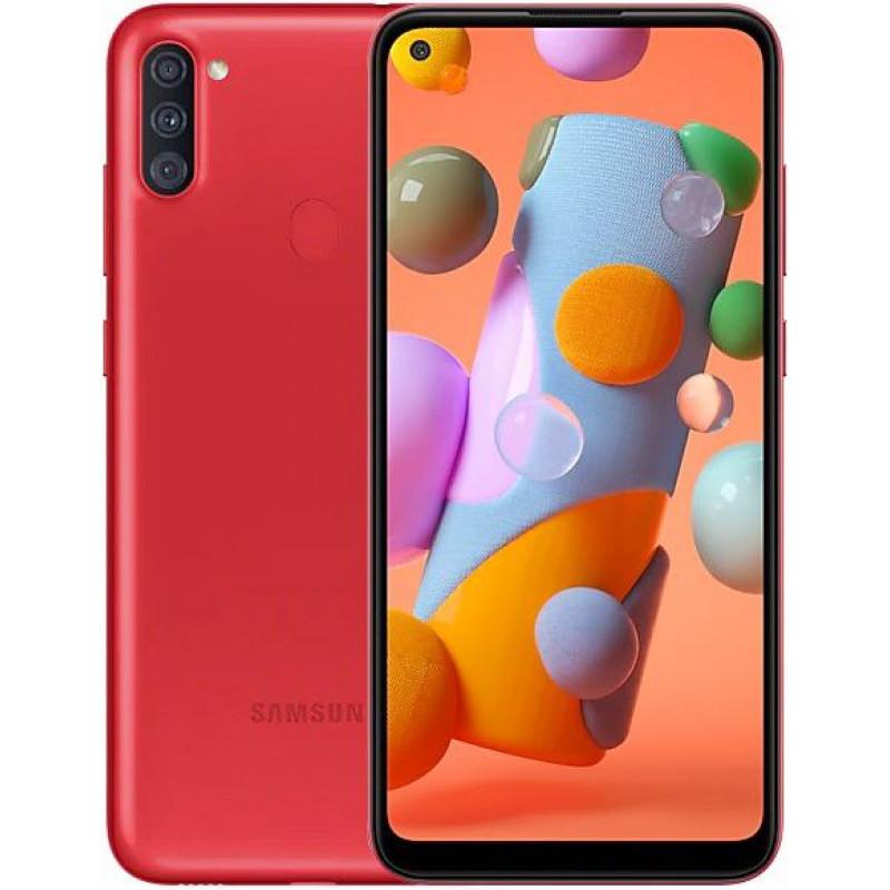 Смартфон Samsung Galaxy A11 Red/Красный