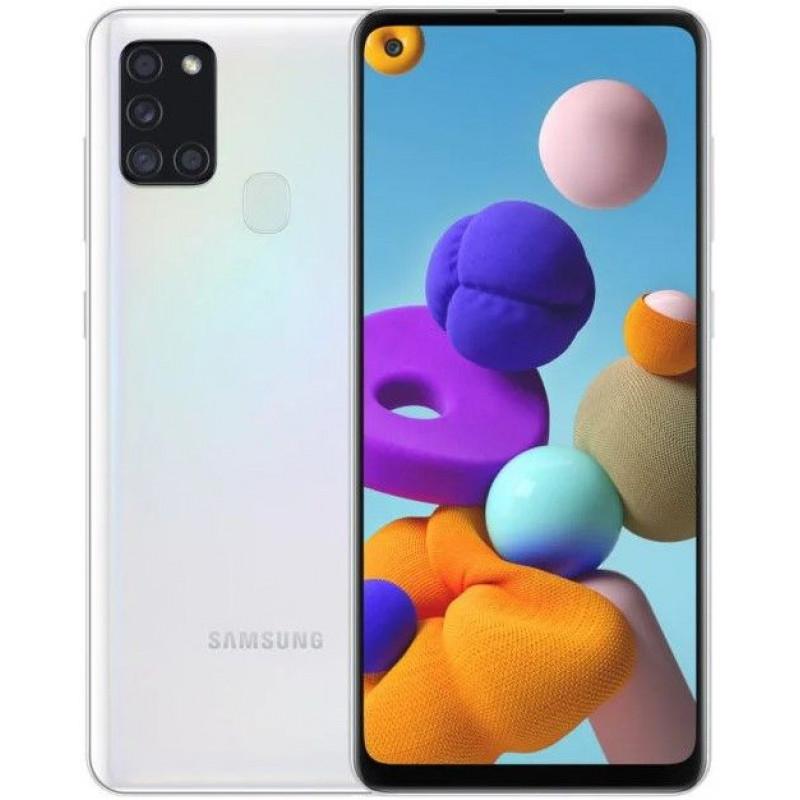 Смартфон Samsung Galaxy A21s 3/32GB Белый