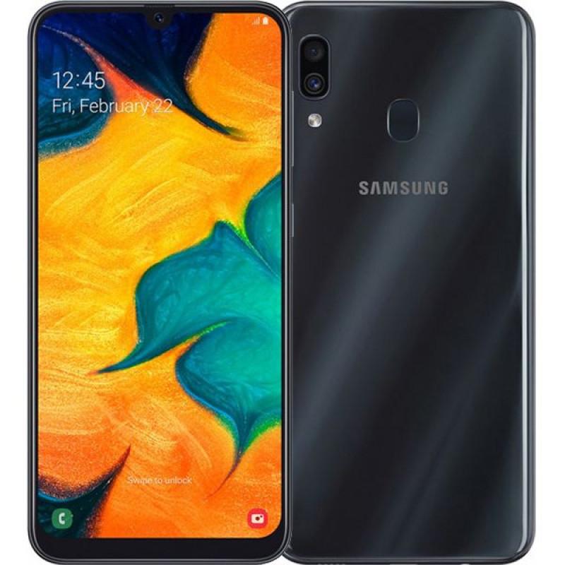 Samsung Galaxy A30 32Gb Black/Черный РСТ