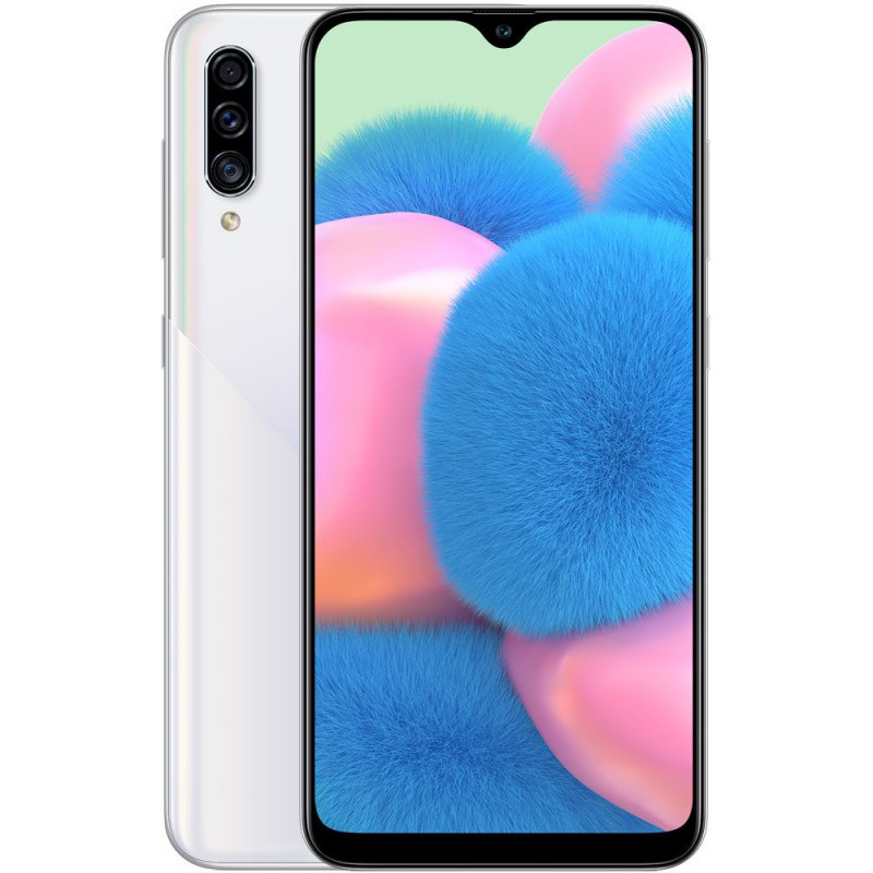 Смартфон Samsung Galaxy A30s 64GB White/Белый