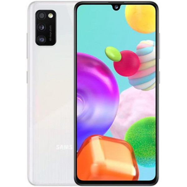 Смартфон Samsung Galaxy A41 4/64Gb White/Белый