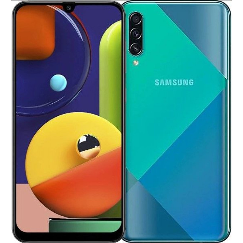 Смартфон Samsung Galaxy A50s 4/128GB Green/Зеленый