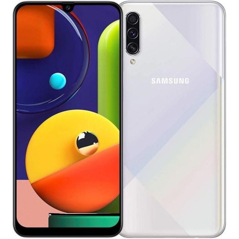 Смартфон Samsung Galaxy A50s 4/128GB White/Белый