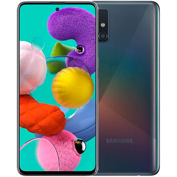 Смартфон Samsung Galaxy A51 128Gb Black/Черный