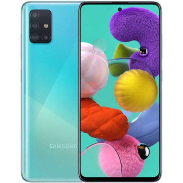 Смартфон Samsung Galaxy A51 4/64Gb Голубой
