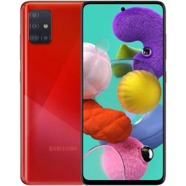 Смартфон Samsung Galaxy A51 8/128Gb Red/Красный