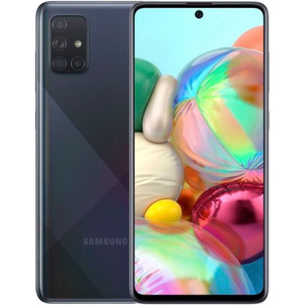 Смартфон Samsung Galaxy A71 6/128Gb Black/Черный