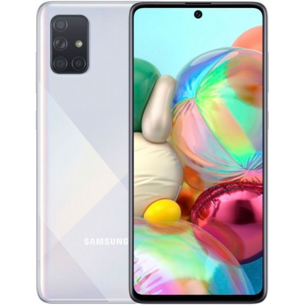 Смартфон Samsung Galaxy A71 128Gb Silver/Серебристый