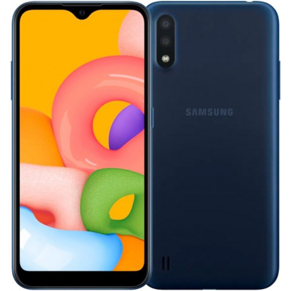 Смартфон Samsung Galaxy M01 Blue/Синий
