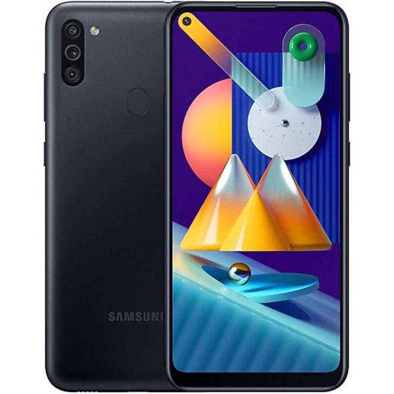 Смартфон Samsung Galaxy M11 3/32Gb Black/Черный