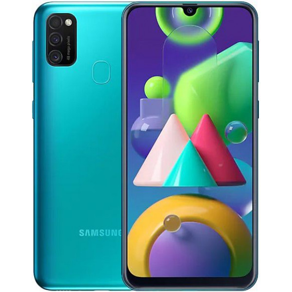 Смартфон Samsung Galaxy M21 4/64Gb Green/Зеленый