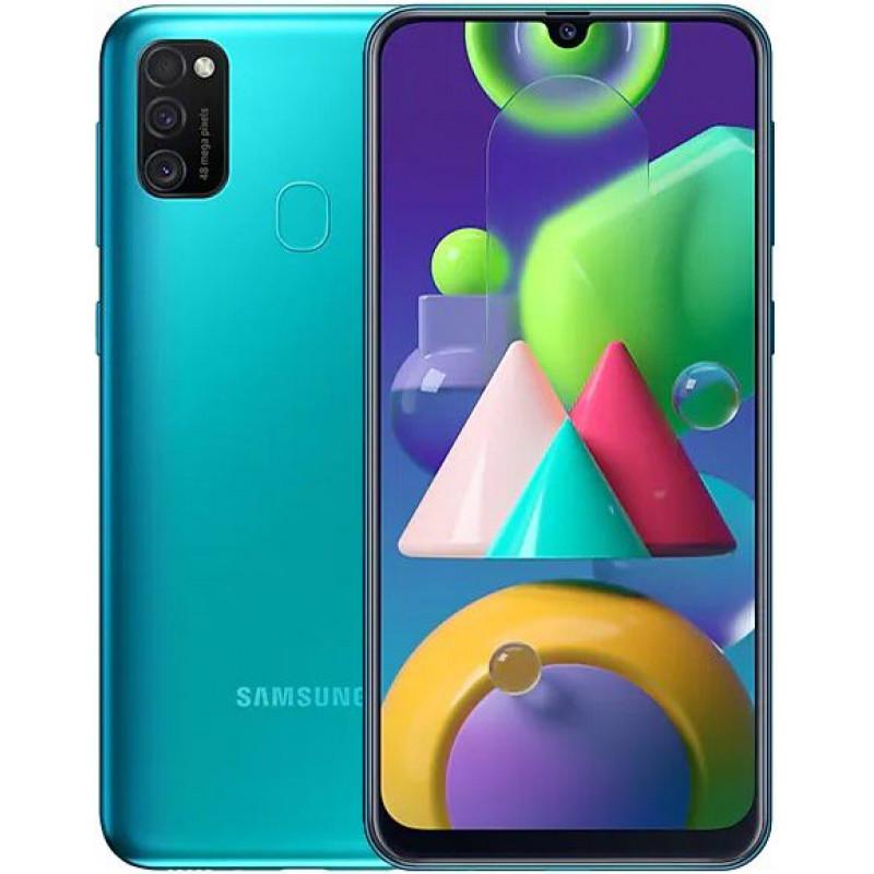 Смартфон Samsung Galaxy M21 4/64Gb Green/Зеленый
