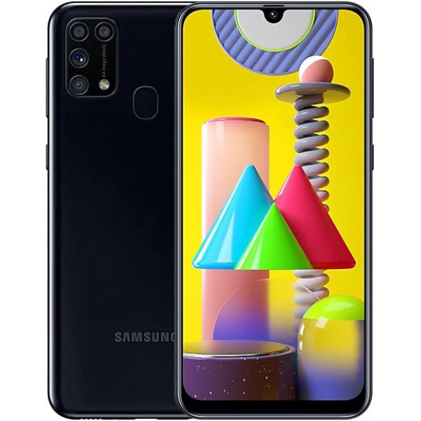 Смартфон Samsung Galaxy M31 6/128Gb Black/Черный