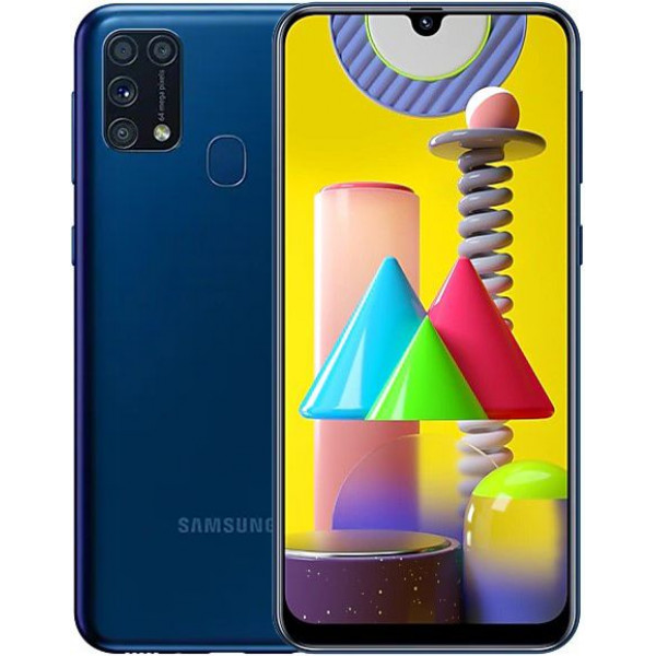 Смартфон Samsung Galaxy M31 6/128Gb Blue/Синий