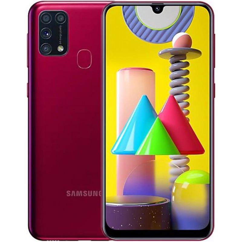 Смартфон Samsung Galaxy M31 6/128Gb Red/Красный
