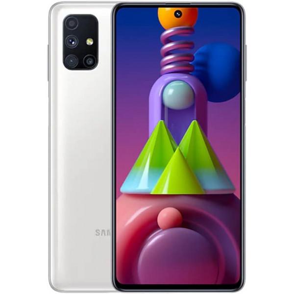 Смартфон Samsung Galaxy M51 White/Белый