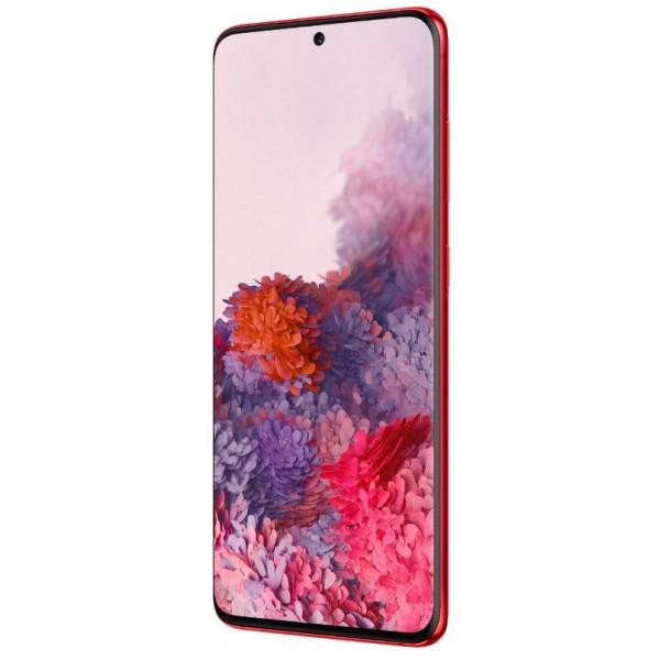 Смартфон Samsung Galaxy S20 Red/Красный