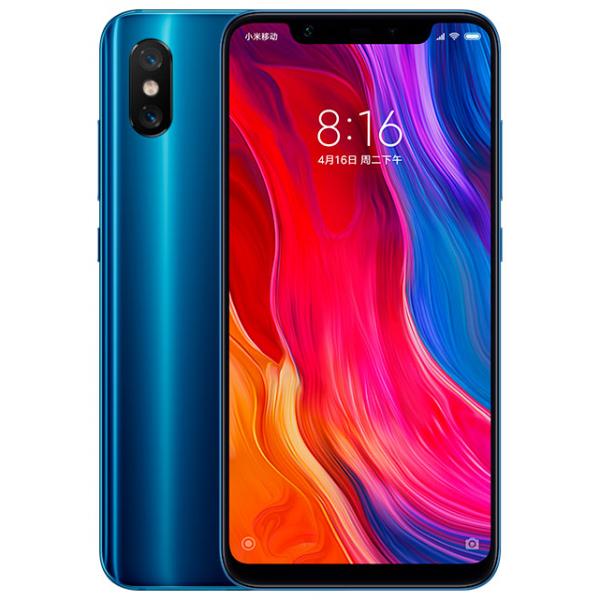 Смартфон Xiaomi Mi8 6/64GB Blue/Синий Global