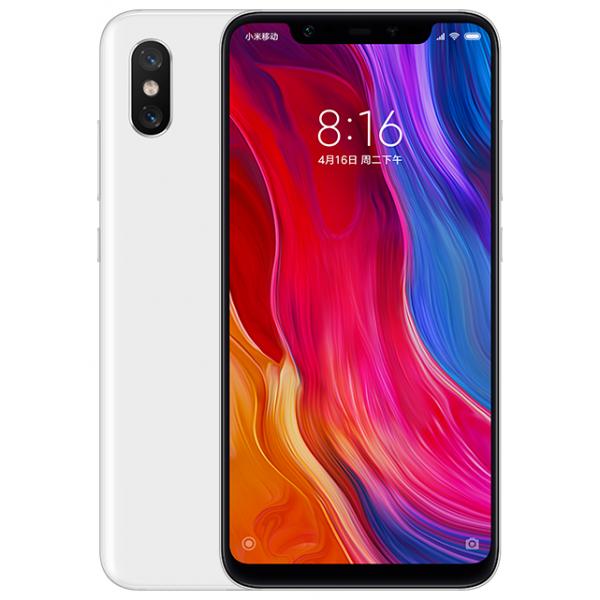 Смартфон Xiaomi Mi8 6/128GB White/Белый Global