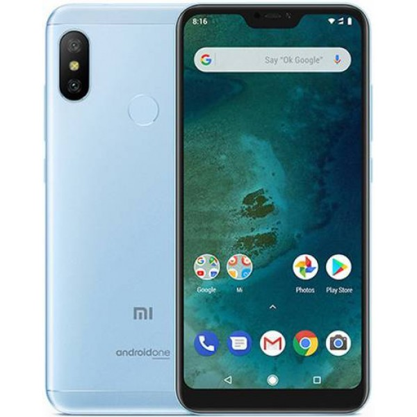 Смартфон Xiaomi Mi A2 Lite 4/64GB Голубой
