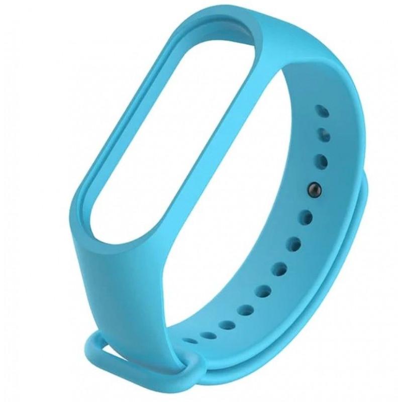 Силиконовый ремешок для Xiaomi Mi Band 4 Голубой