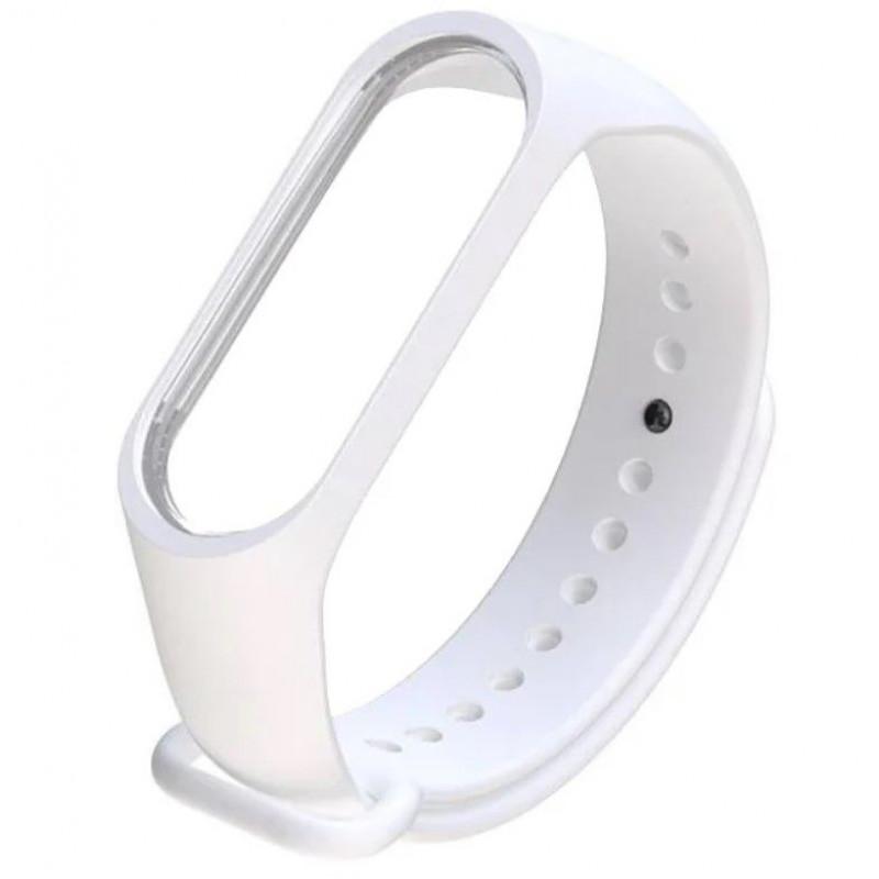 Силиконовый ремешок для Xiaomi Mi Band 4 Белый
