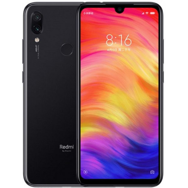Смартфон Xiaomi Redmi Note 7 4/128 Gb Black/Черный Global