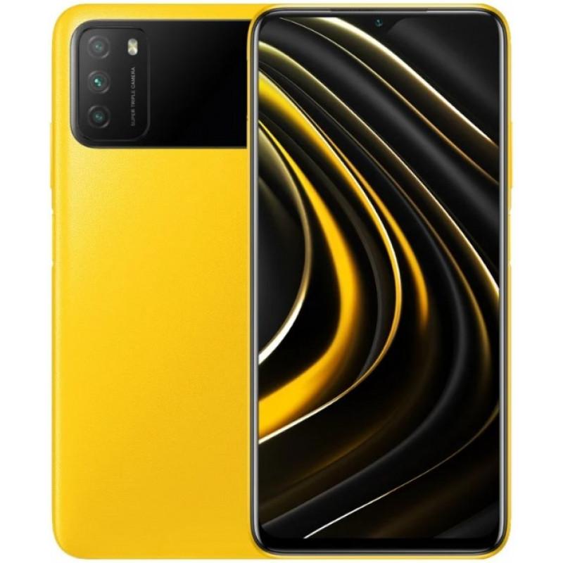 Смартфон Xiaomi POCO M3 4/128GB Yellow/Желтый