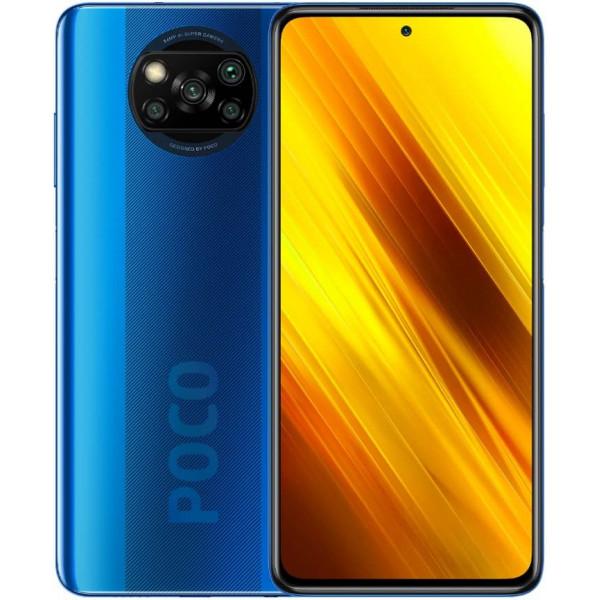 Смартфон Xiaomi POCO X3 NFC 6/128GB Blue/Синий Кобальт Global Version
