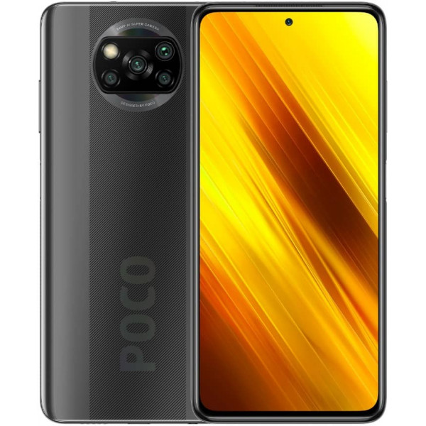 Смартфон Xiaomi POCO X3 NFC 6/128GB Grey/Серая Тень Global Version